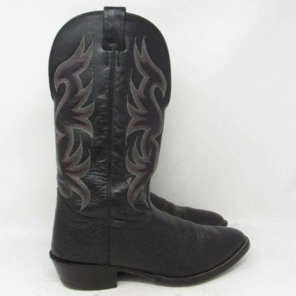 7737f9b9d54 🇺🇸 Nocona cowboy boots mens size 10EE